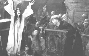 Image from Georgi Kropachyov and Konstantin Yershov's film Viy (1967)