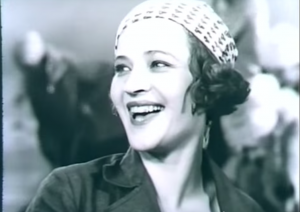 The convict Sonia reforged, film still from Zakliuchennye (1936)